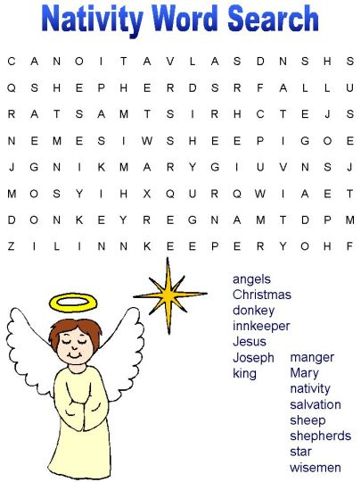 Christmas wordsearch for kids 44
