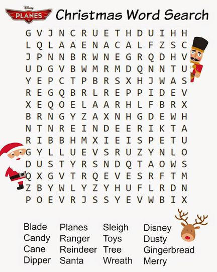 Christmas wordsearch for kids 49