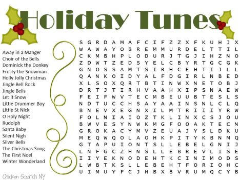 Christmas wordsearch for kids part 6