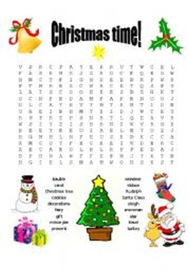 Christmas wordsearch for kids 68
