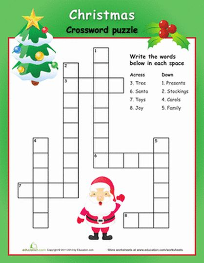 Christmas wordsearch for kids 7