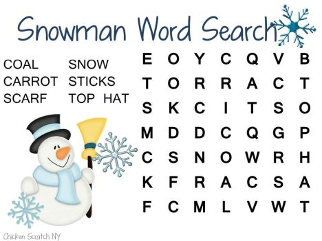Christmas wordsearch for kids 80