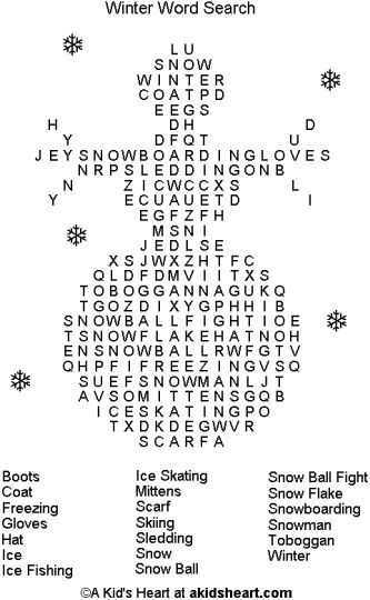 Christmas wordsearch for kids 89