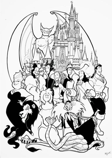 Disney Christmas Coloring Pages Free Printable 21