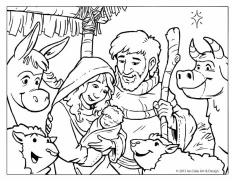 Disney Christmas Coloring Pages Free Printable 37