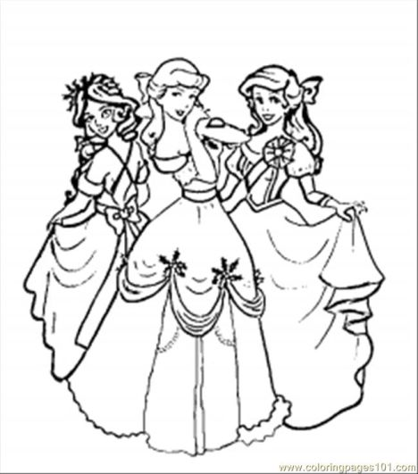 Disney Christmas Coloring Pages Free Printable 49