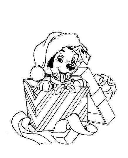Disney Christmas Coloring Pages Free Printable 6