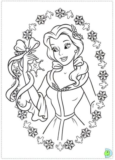 disney christmas coloring pages free printable part 7. Black Bedroom Furniture Sets. Home Design Ideas