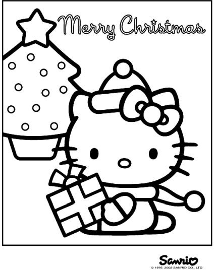 Disney Christmas Coloring Pages Free Printable 76