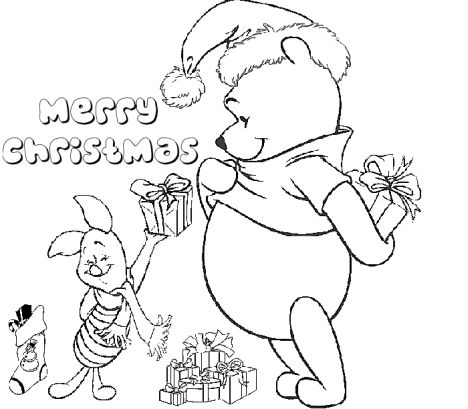 Disney Christmas Coloring Pages Free Printable 78