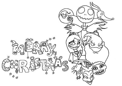 Disney Christmas Coloring Pages Free Printable 86
