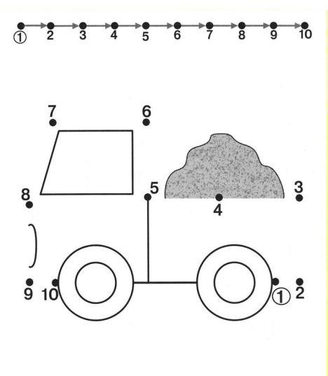Easy dot to dot 1-10 27