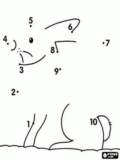 Easy dot to dot 1-10 29