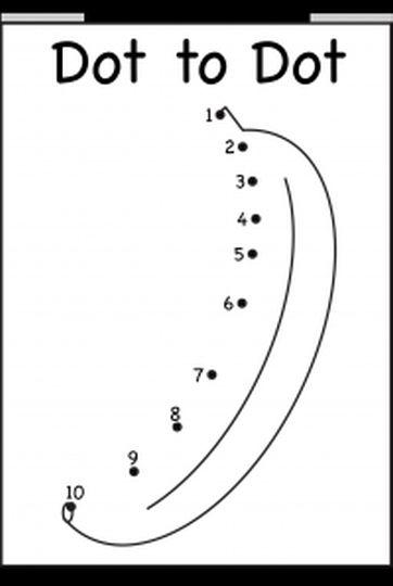 Easy dot to dot 1-10 3