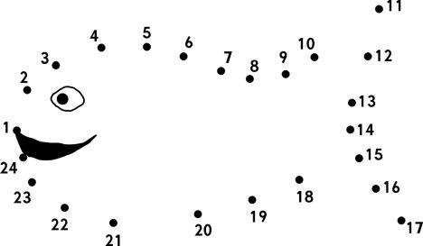 Easy dot to dot 1-10 6