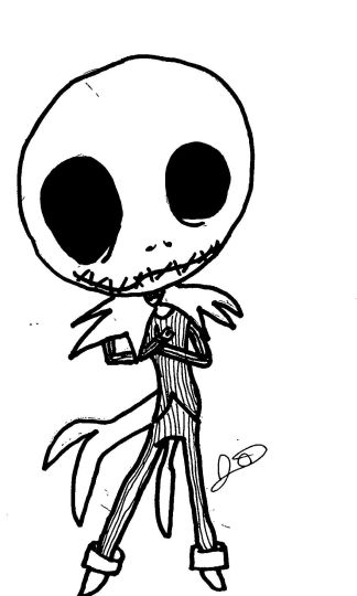 Jack The Pumpkin King Coloring Pages 10