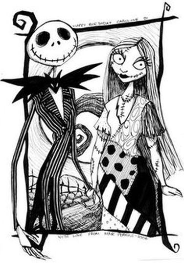 Jack The Pumpkin King Coloring Pages 15