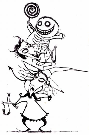 Jack The Pumpkin King Coloring Pages 2