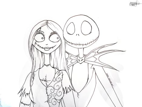 Jack The Pumpkin King Coloring Pages 20