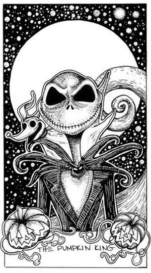 Jack The Pumpkin King Coloring Pages 25