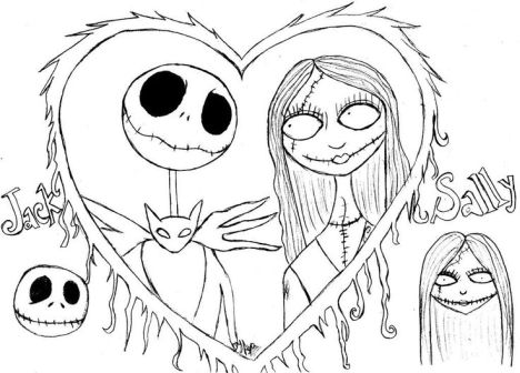 Jack The Pumpkin King Coloring Pages 29