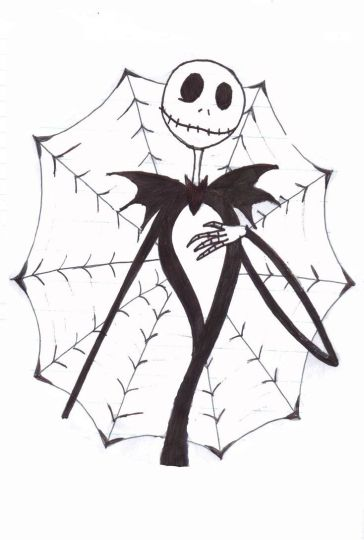 Jack The Pumpkin King Coloring Pages 30