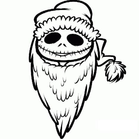 Jack The Pumpkin King Coloring Pages 32