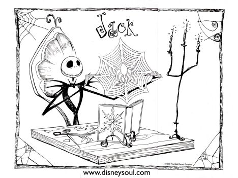Jack The Pumpkin King Coloring Pages 33