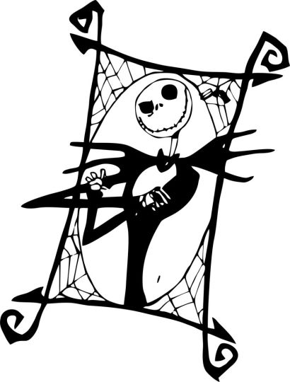 Jack The Pumpkin King Coloring Pages 4