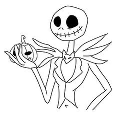 Jack The Pumpkin King Coloring Pages 40