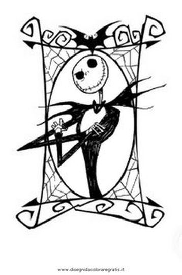 Jack The Pumpkin King Coloring Pages 41