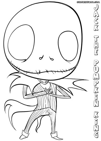 bobbyjack coloring pages | Jack The Pumpkin King Coloring Pages part 1