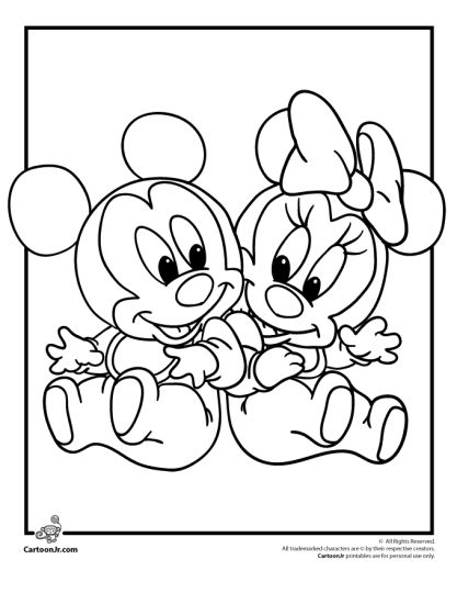 Minnie mouse christmas coloring pages part 1 for Minnie mouse christmas coloring pages