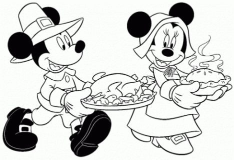 Minnie mouse Christmas coloring pages 53