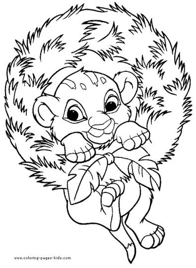 Minnie mouse Christmas coloring pages 65