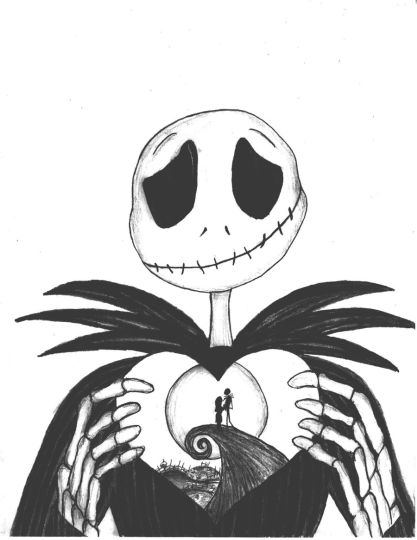 Nightmare before Christmas coloring pages 11