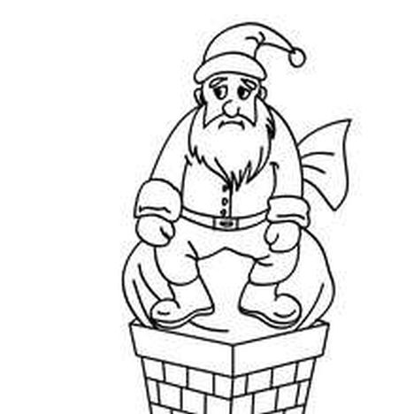 Santa Claus Colouring Pages 112