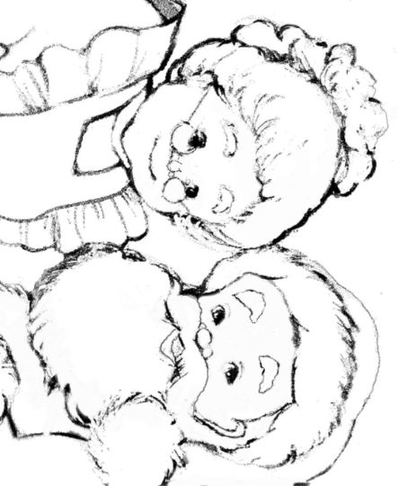 Santa Claus Colouring Pages 116