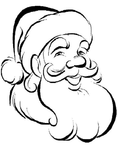 Santa Claus Colouring Pages 144