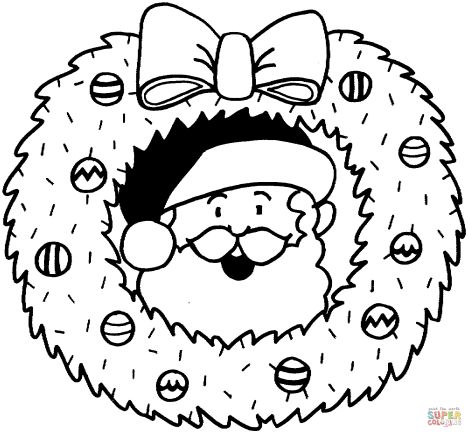 Santa Claus Colouring Pages 158