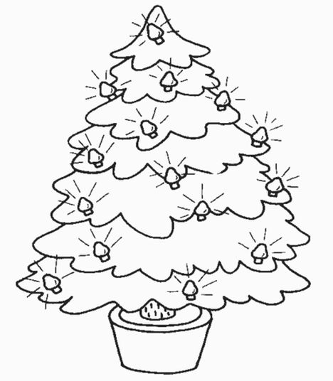 Santa Claus Colouring Pages 165