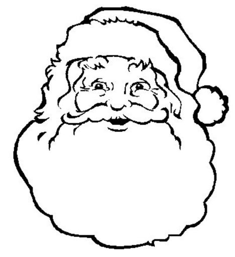 Santa Claus Colouring Pages 176