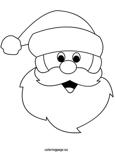 Santa Claus Colouring Pages 41