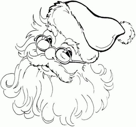 Santa Claus Colouring Pages 68
