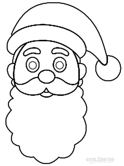 Santa Claus Colouring Pages 84