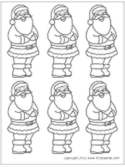 Santa Claus Colouring Pages 88