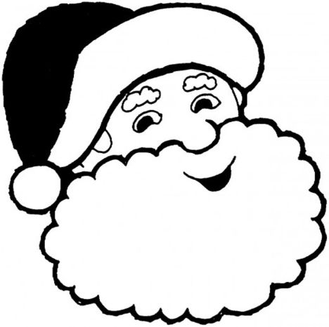 Santa Claus Colouring Pages 90