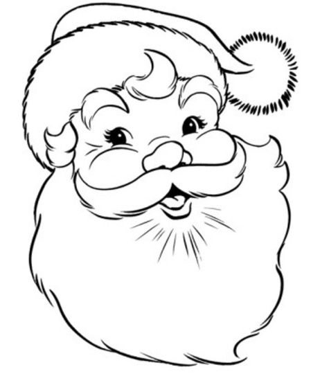 Santa Claus Colouring Pages 91