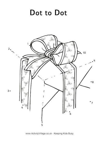 christmas dot to dot printables 16