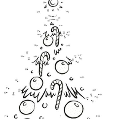 christmas dot to dot printables 19